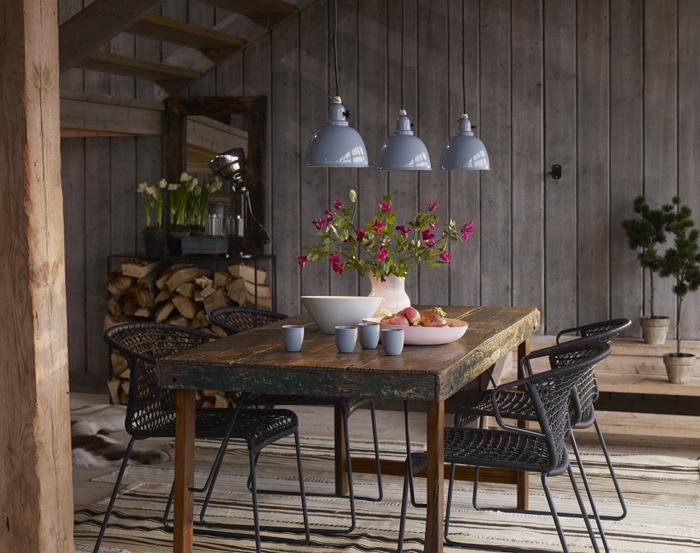 mesas de comedor- comedor rustico