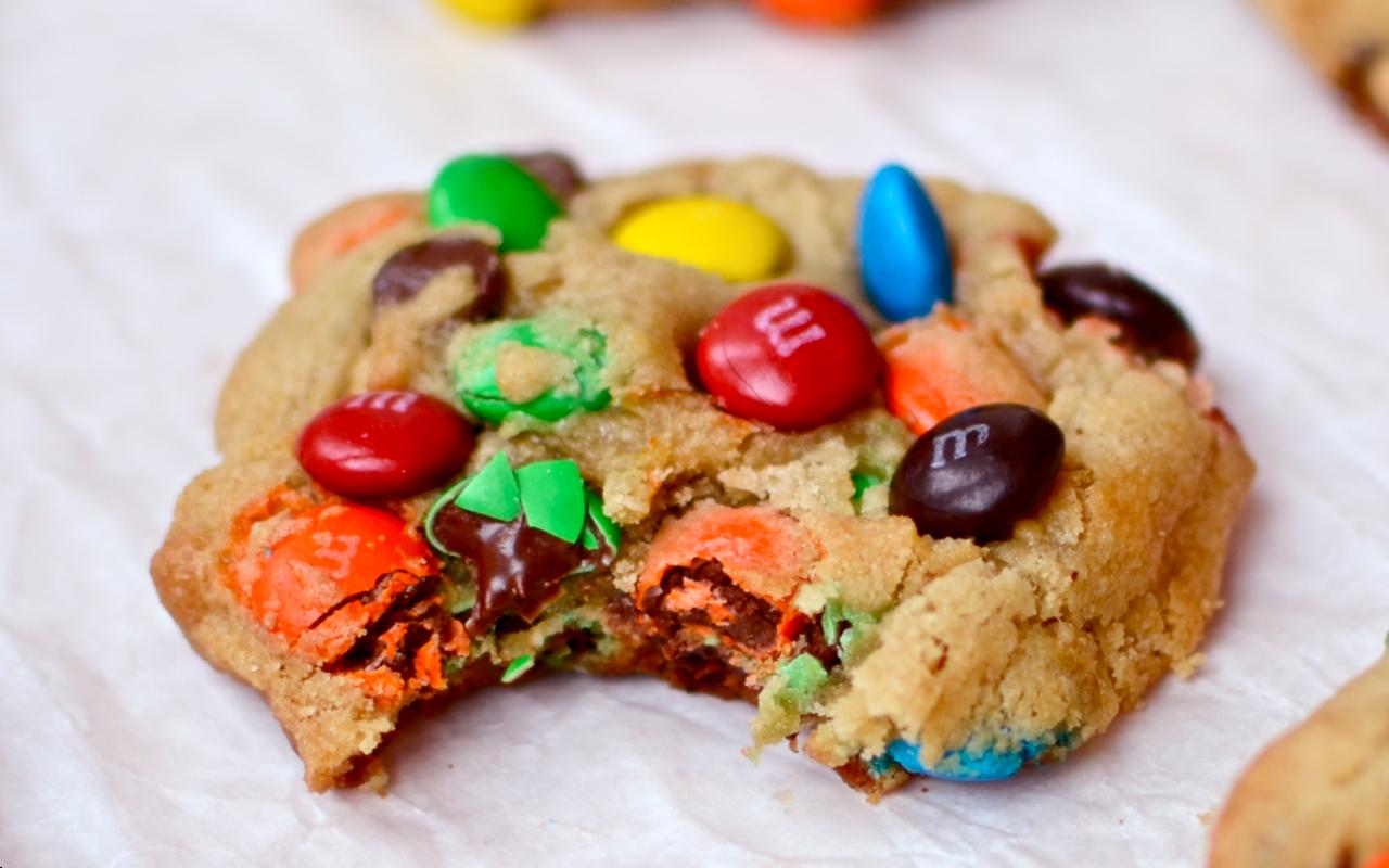 печенье с м энд мс рецепт с фото