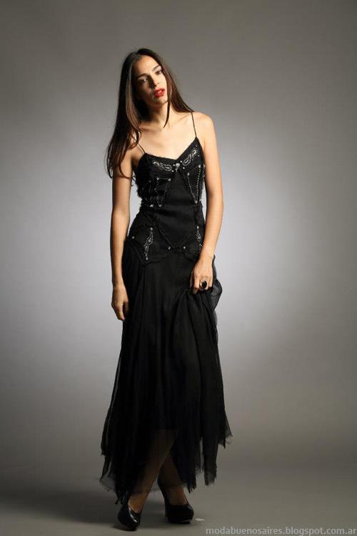 Sathya vestidos invierno 2013 coleccion