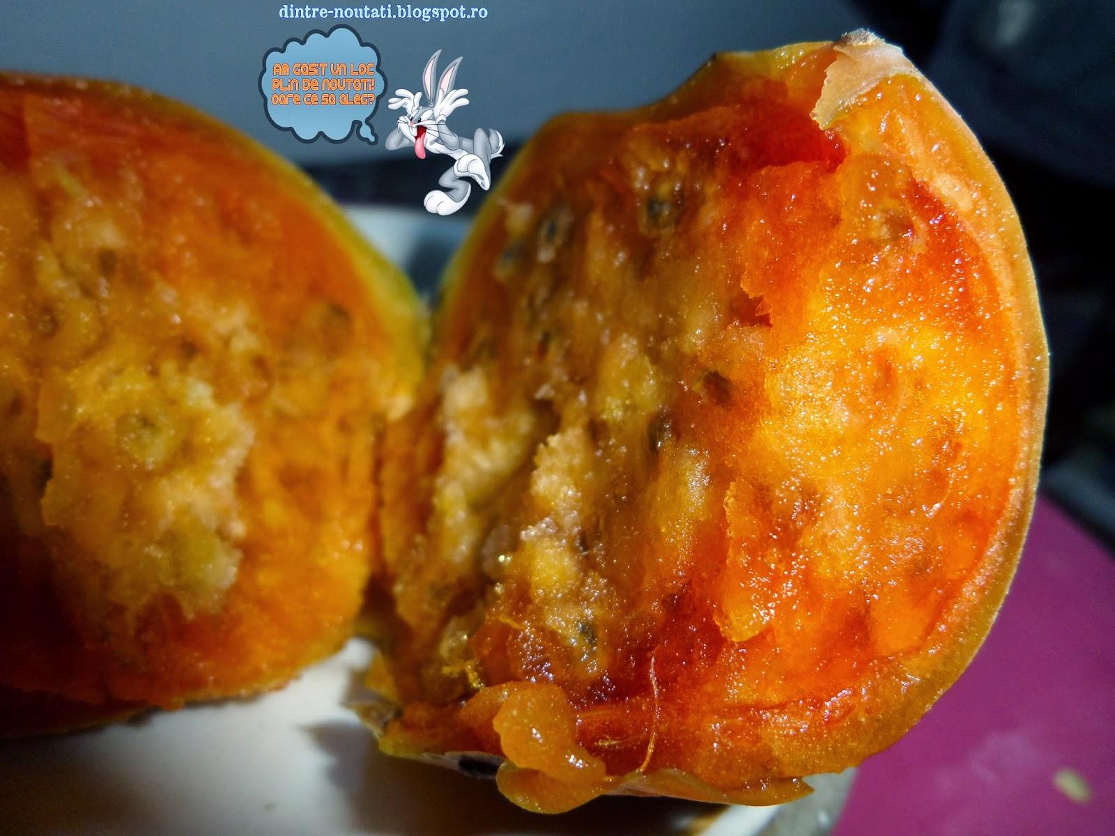 fructul galben portocaliu