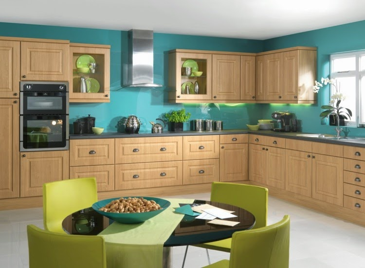 Contrasting kitchen wall colors 15 cool color ideas for Kitchen ideas and colors