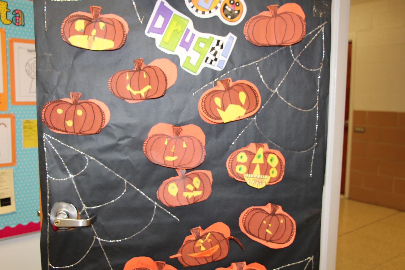 Permanently primary guided reading and a little red ribbon week woohoo we get a pizza party with the high school teen institute on friday the kids are super excited heres a peek at our snazzy door vtopaller Choice Image