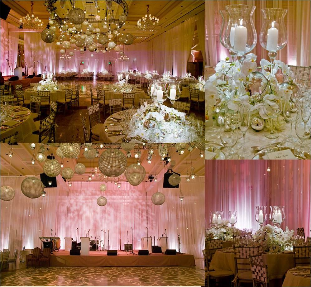 Simplesmente SimJulia Lima Decoração de casamento rosa -> Decoracao De Banheiro De Festa De Casamento