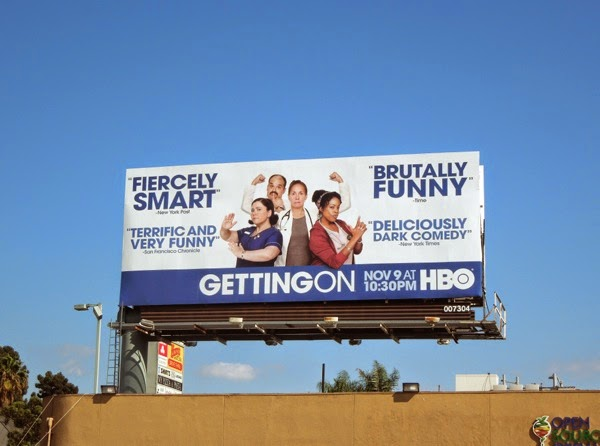 Getting On season 2 billboard