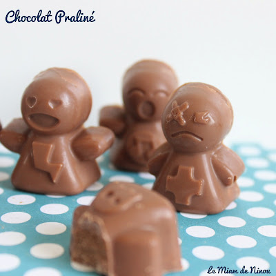 Illustration Chocolat Praliné
