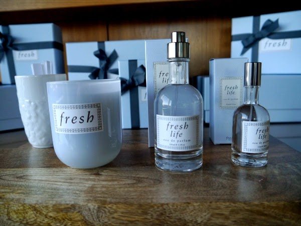 Fresh Life eau de parfum and candle