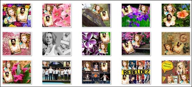 montagens de duas fotos