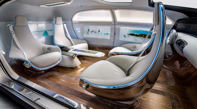 The Luxury of Mercedes Benz F 015