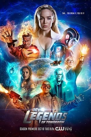 Lendas do Amanhã - Legends of Tomorrow 3ª Temporada Séries Torrent Download capa