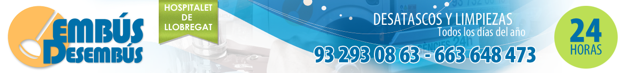 Desatascos Hospitalet 【663 648 473】