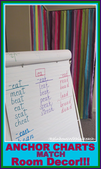 photo of: Anchor Chart Colors Match Room Decor