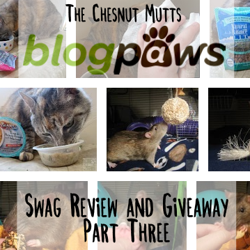 First Impressions Amp Giveaway Blogpaws Swag Part Three