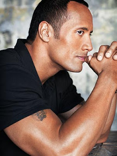 WWE Champion (The Rock) Dwayne Johnson Hot Photo wallpapers 2012