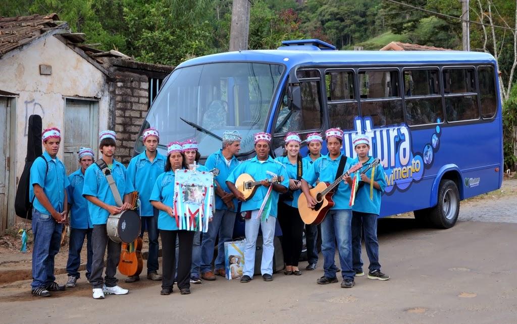 Ônibus da Cultura leva arte ao interior de Teresópolis