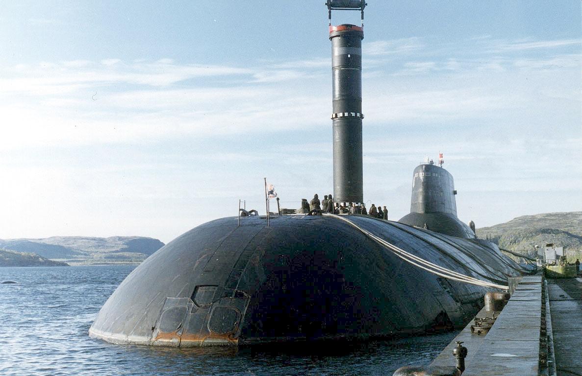 российская подводная лодка проекта акула