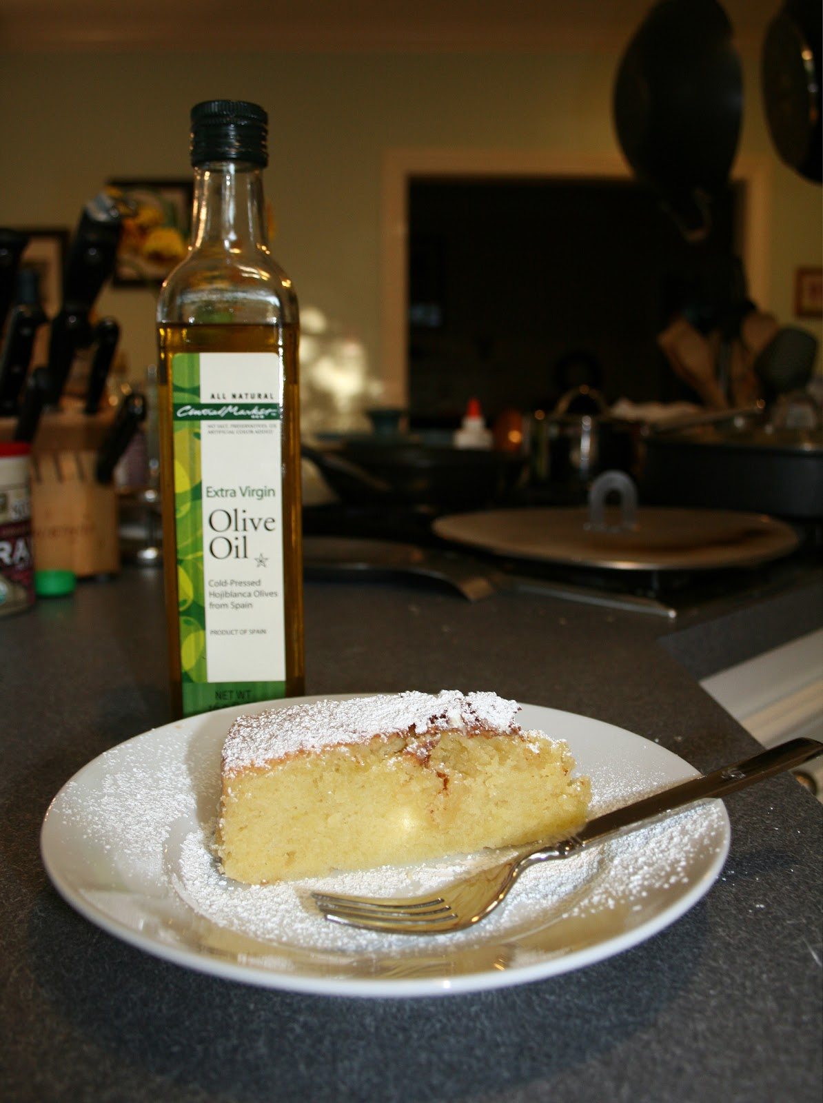 one clever mom: Ladi Tourta - Olive Oil Cake
