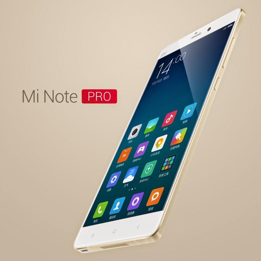 Inilah Harga dan Spesifikasi Lengkap Xiaomi Mi Note Pro