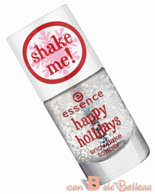 Snow flake topper Happy holidays