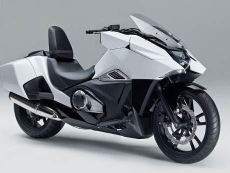 Gambar Honda NM4 Vultus Skutik Futuristik