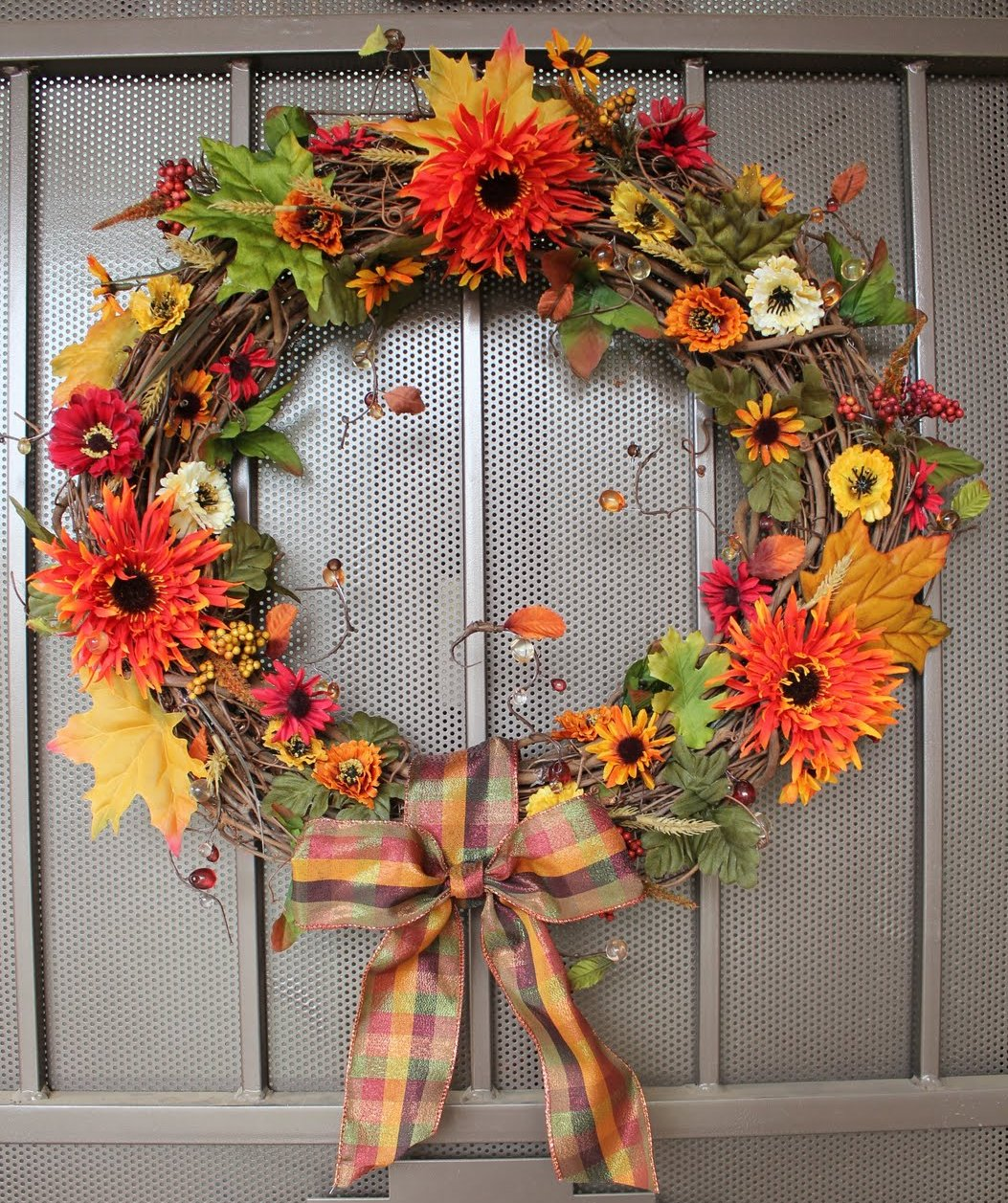 How To Make A Fall Inspired Wreath