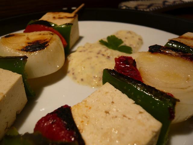 Brocheta De Tofu...