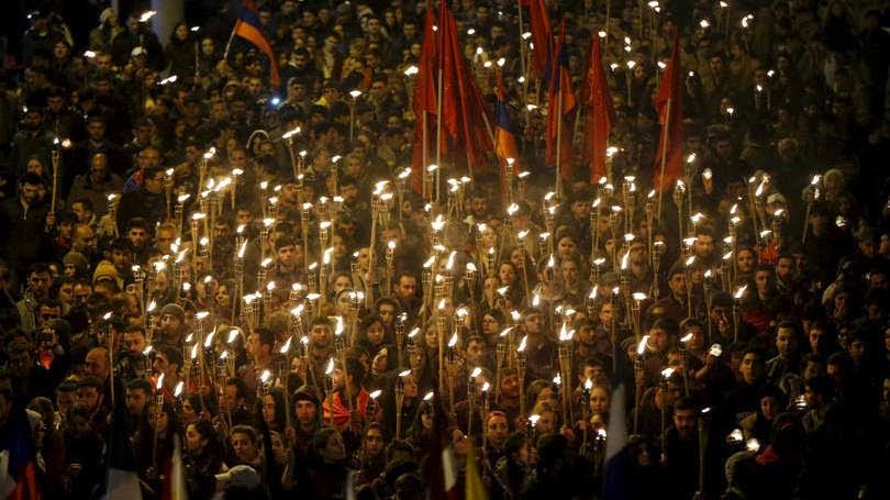 Presidente de Israel fala sobre massacre armênio