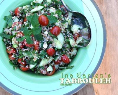 Kitchen Parade Ina Garten 39 S Tabbouleh Salad Recipe