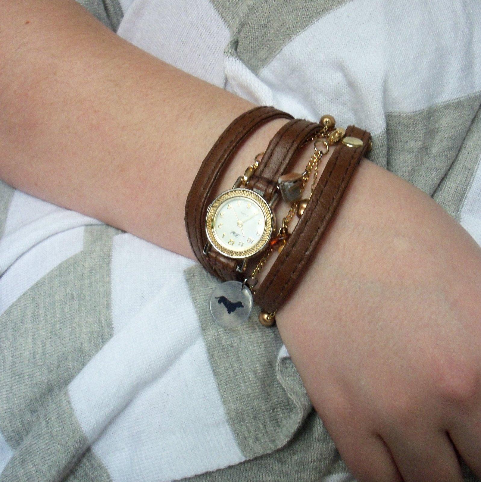 Diy Wred Charm Watch Bracelets