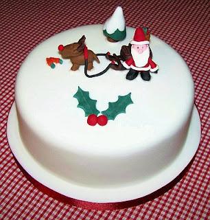 Tortas de Navidad con Santa, parte 1