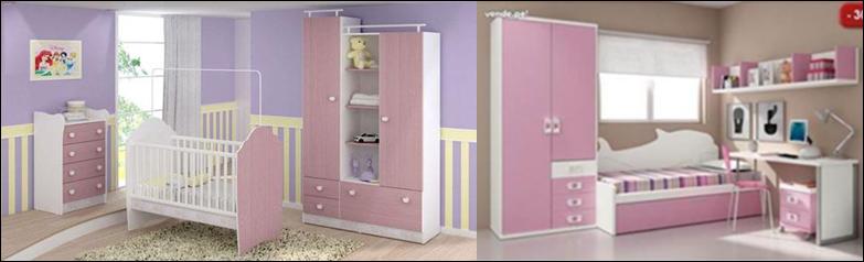 Hola ideas decoraci n melamine en muebles para ni os - Muebles para habitaciones de bebes ...