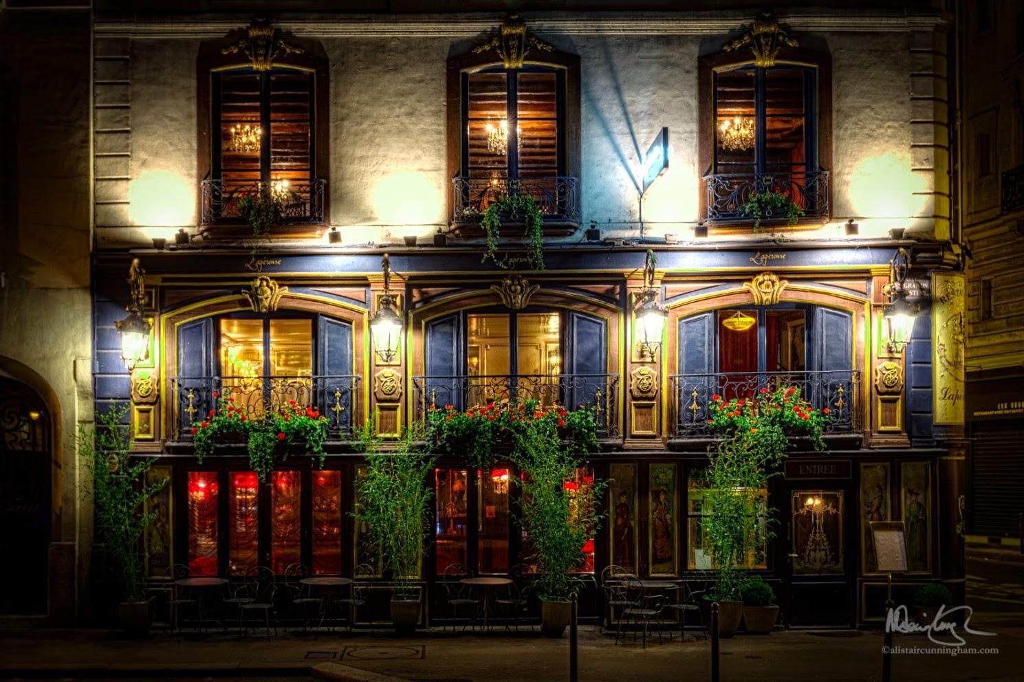 Alistair Cunningham, fotografía HDR, Restaurant Lapérouse, París