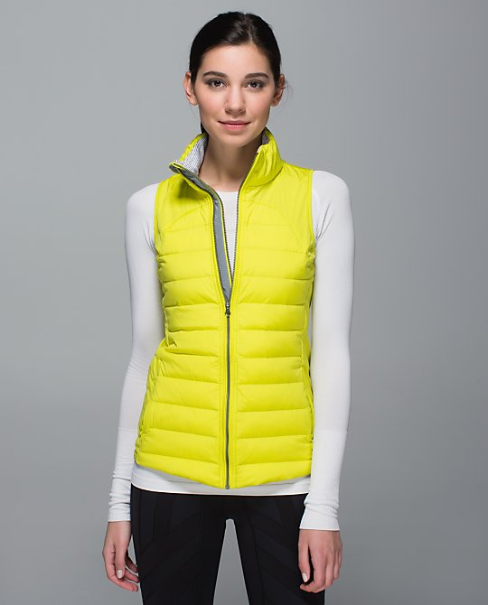 lululemon fluffed up vests