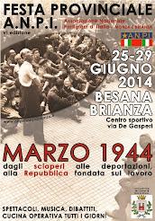 FESTA PROVINCIALE ANPI MONZA E BRIANZA !!!