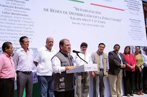 Anuncia Conagua reconstrucción de márgenes del arroyo Papas en Xalapa