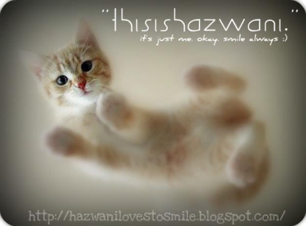 """""""ThisIsHazwani."""""""