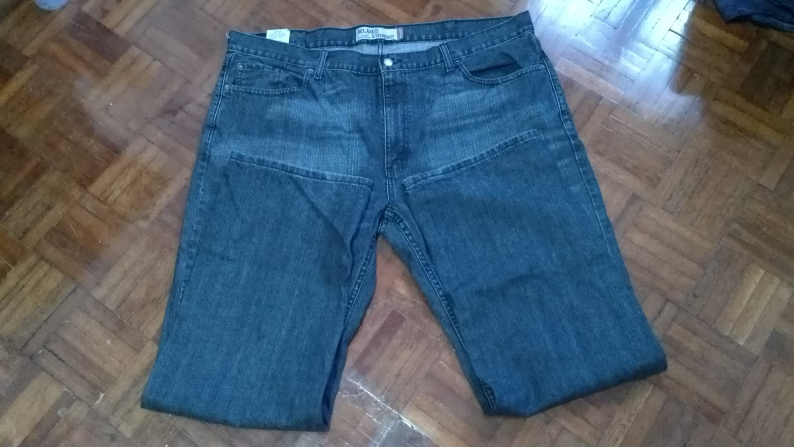 Jeans By Example Levis 559 Black W42 L32 Made In Mexico