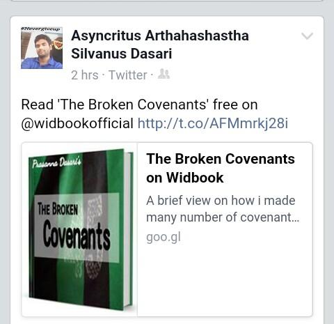 The Broken Covenants