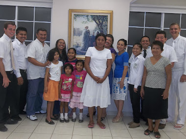 Bety- a new member of the Church of Jesus Christ of Latter Day Saints in Southern Mexico