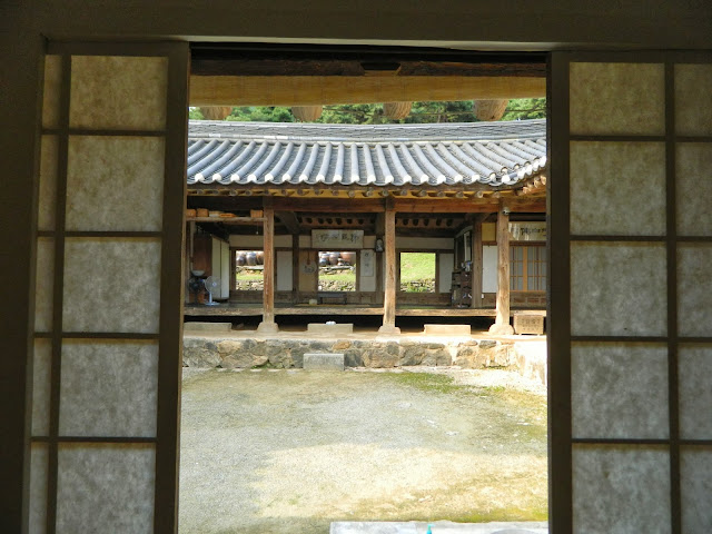 Womens quarters in the Myeongjae mansion