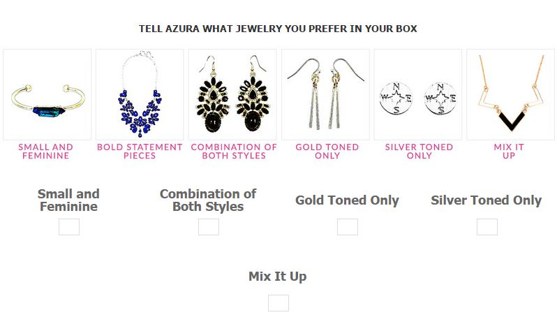 Azura Box: A new Jewelry Subscription