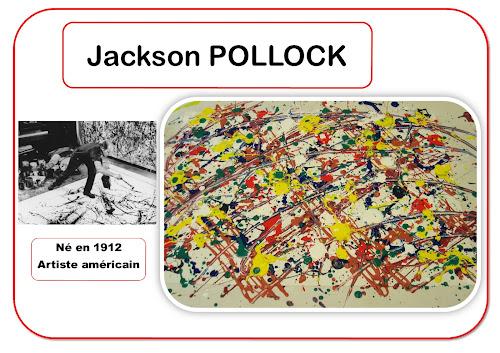 Jackson Pollock - Portrait d'artiste en maternelle