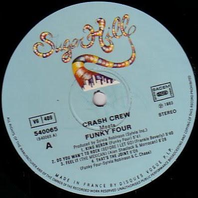 Crash Crew / Funky Four – Crash Crew Meets Funky Four (1983, 256, Vinyl)