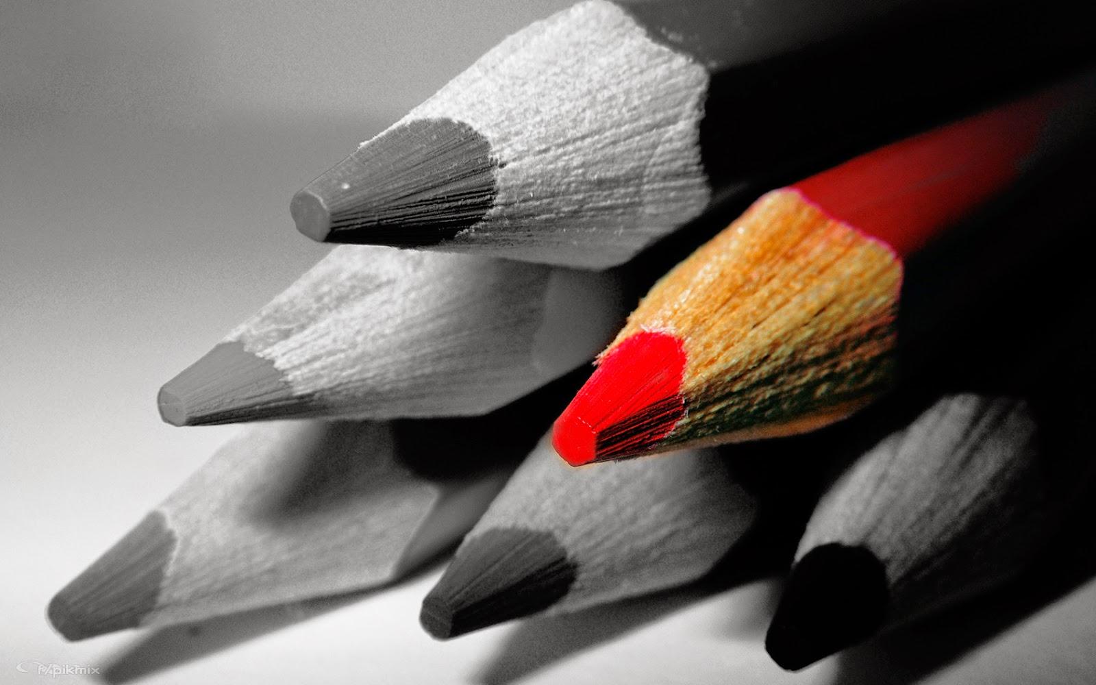 Lápiz rojo | Fondo de pantalla