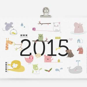 CALENDARIOS 2015 BONITOS