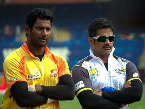 Mumbai Heroes Vs Chennai Rhinos Match CCL 4 Photo Gallery