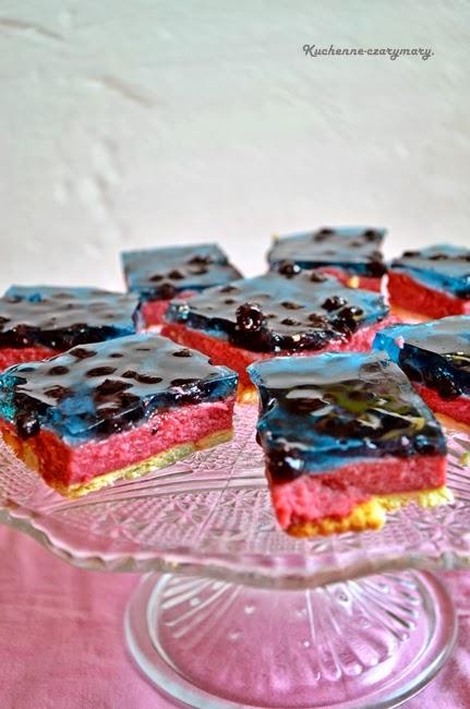 ciasto porzeczkowe z kaszy mannej