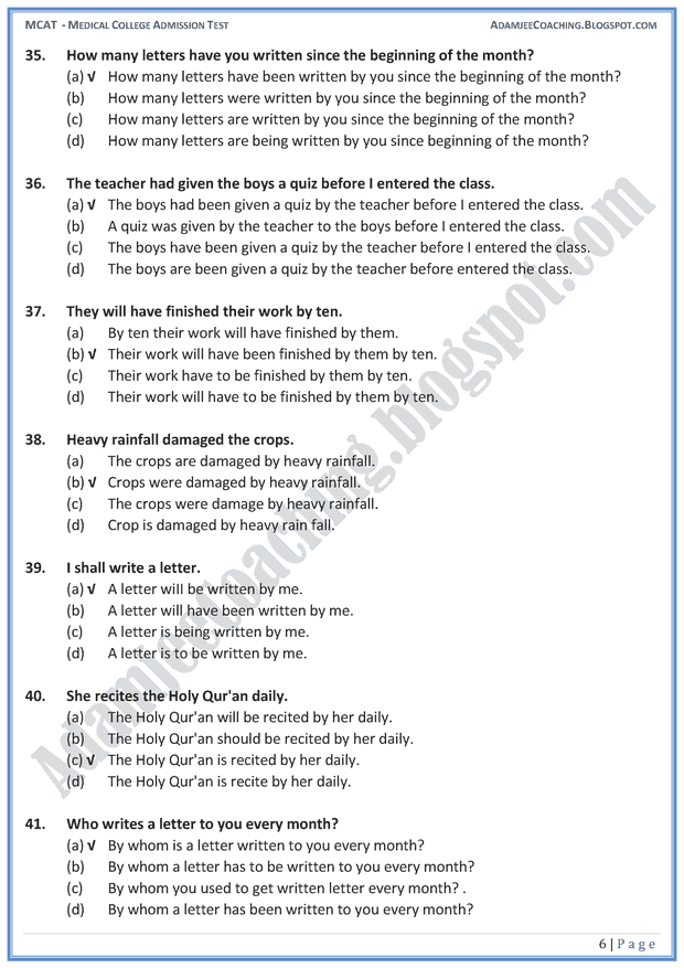 mcat-english-active-and-passive-voice-mcqs-for-medical-entry-test