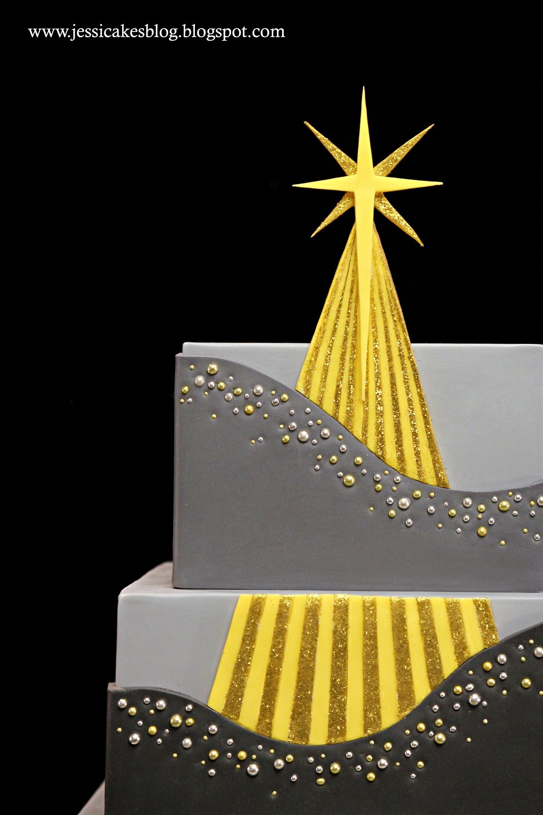 Christmas Cake Decoration With Stars : The Star Of Christmas Cake oursongfortoday