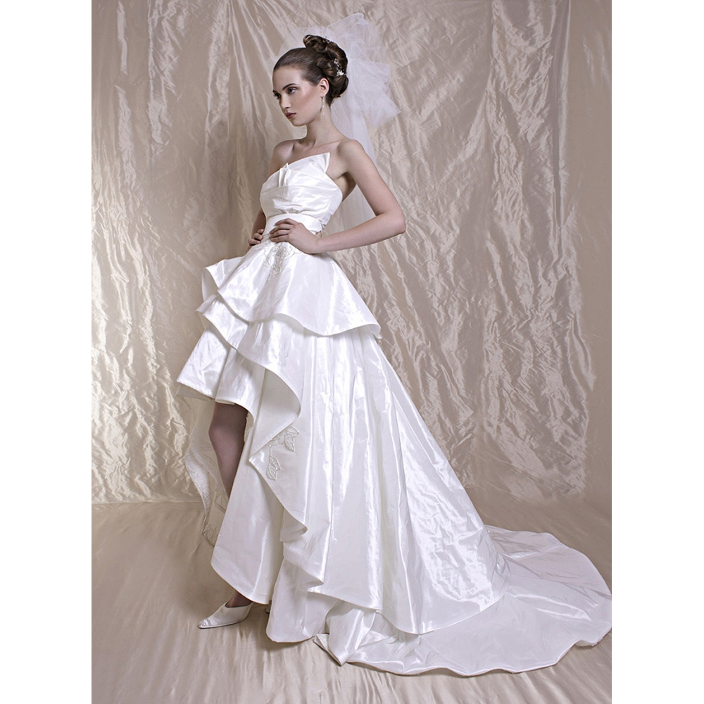 Whiteazalea high low dresses modern high low hemline for Wedding dress high low