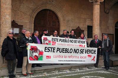 Ciudad Rodrigo, Este pueblo no se vende, contra la reforma local
